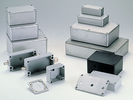 Sealed diecast aluminium enclosures