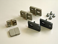 Plastic wall mounting bracket MF