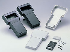 T-shaped portable plastic enclosures G858