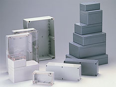 Sealed plastic enclosures G2xx, G3xx